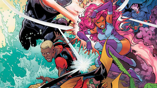 Teen Titans #10 Review and **SPOILERS**