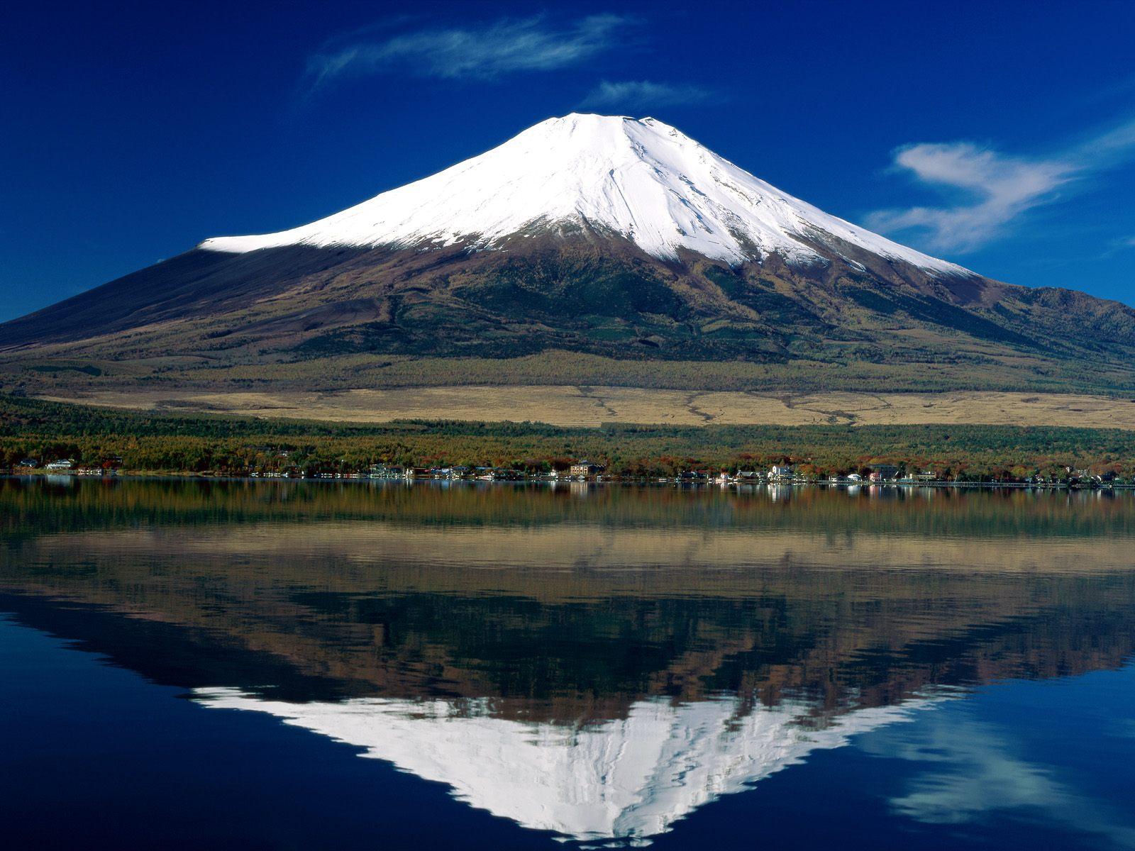 Beautiful Places Mount Fuji Japan