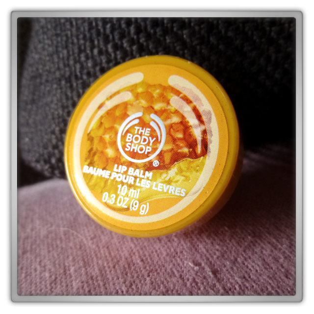 The Body Shop - Honeymania lip balm