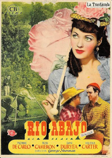 Rio Abajo - Programa de Cine - Yvonne de Carlo - Rod Cameron