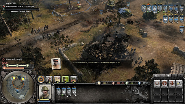 Screenshot from Company of Heroes 2