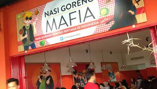 Wisata Kuliner Bandung Sadis dan Mematikan, Nasi Goreng Mafia