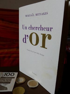 Le Chercheur d'or, un recueil de Mikhaïl Mitsakis