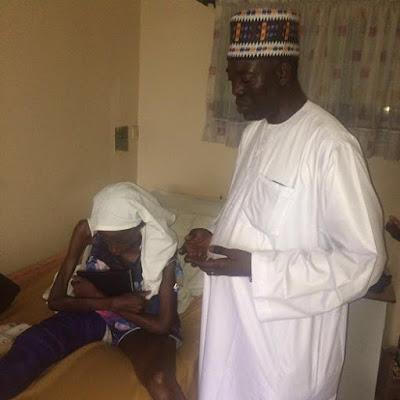 Photos Of Mayowa Ahmed At Lagos Hospital (LUTH) Amid Scam Controversy.