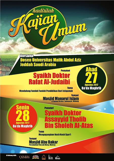 Kajian malang oleh bersama dosen universitas malik abdul aziz jeddah saudi arabia - karyafikri.blogspot.com