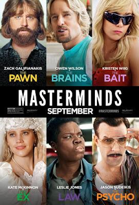 Masterminds 2016 DVD R4 NTSC Latino