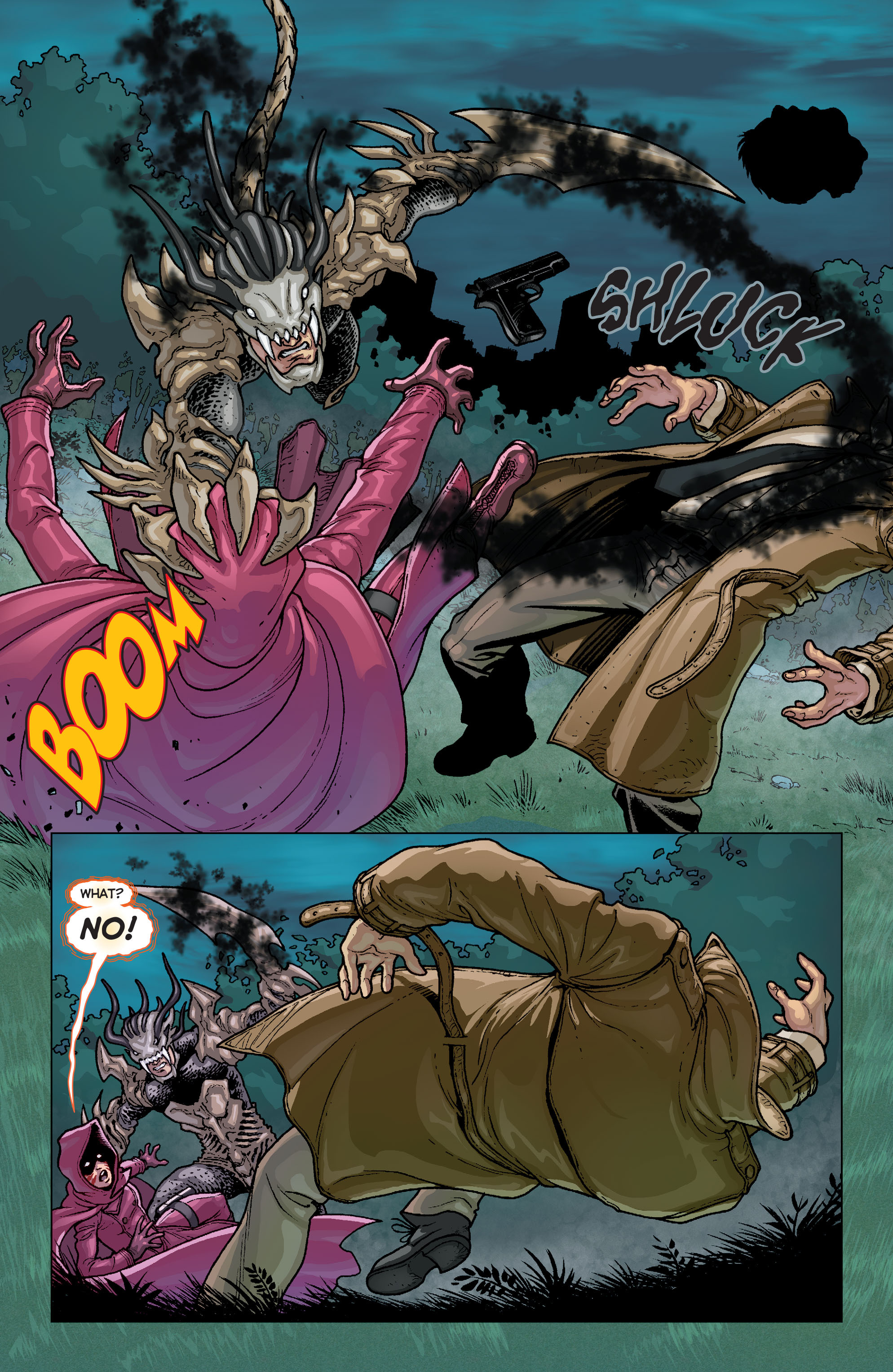 Read online Trinity of Sin: Pandora comic -  Issue #6 - 16