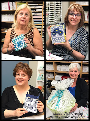 Linda Vich Creates: 2017 Catalog Launch Party. Happy prize winning ladies!