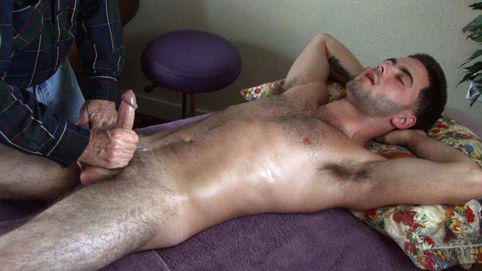 hairy gay massage
