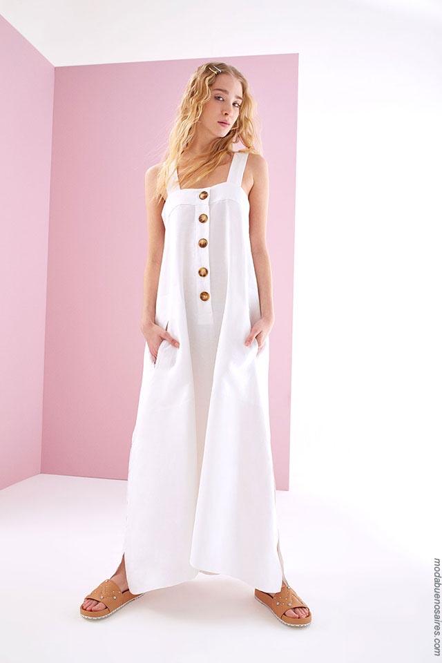 Moda primavera verano 2019: Vestidos primavera verano 2019 colección Ossira.