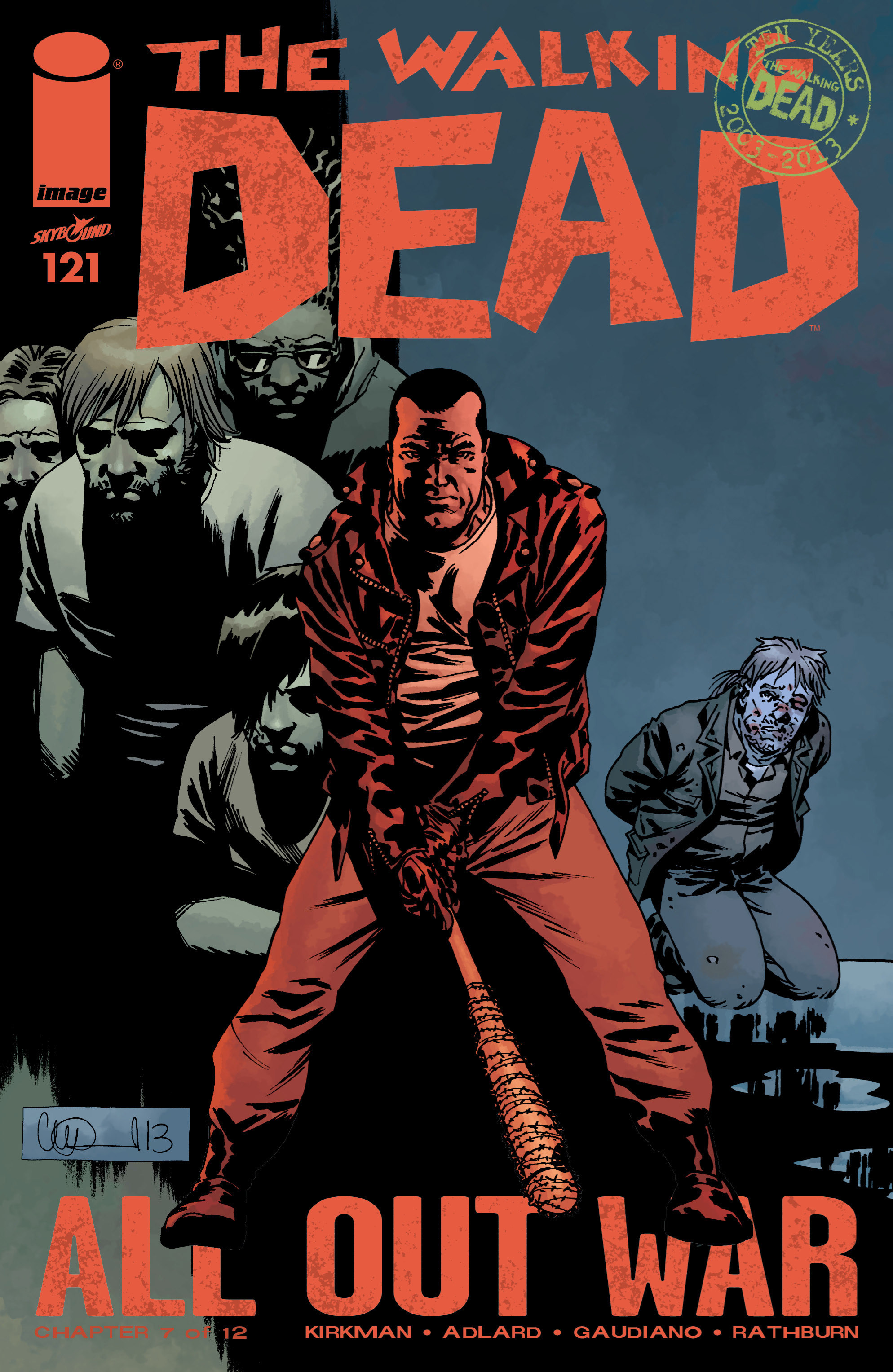 The Walking Dead 121 Page 1