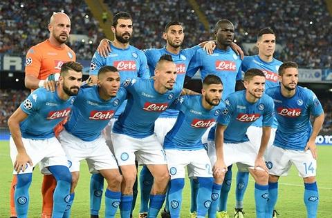 Á quân Serie A 2017-2018 - Napoli.
