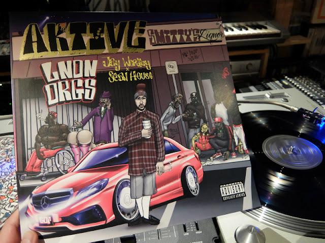 AKTIVE / LNDN DRGS のレコードです。