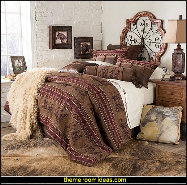Horse Themed Bedroom Decorating Ideas Part - 23: Horse Theme Bedroom - Horse Bedroom Decor - Horse Themed Bedroom Decorating  Ideas - Equestrian Decor