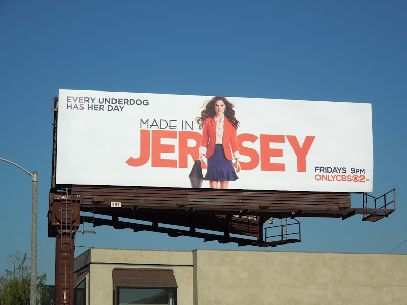 Made in Jersey season 1 billboard