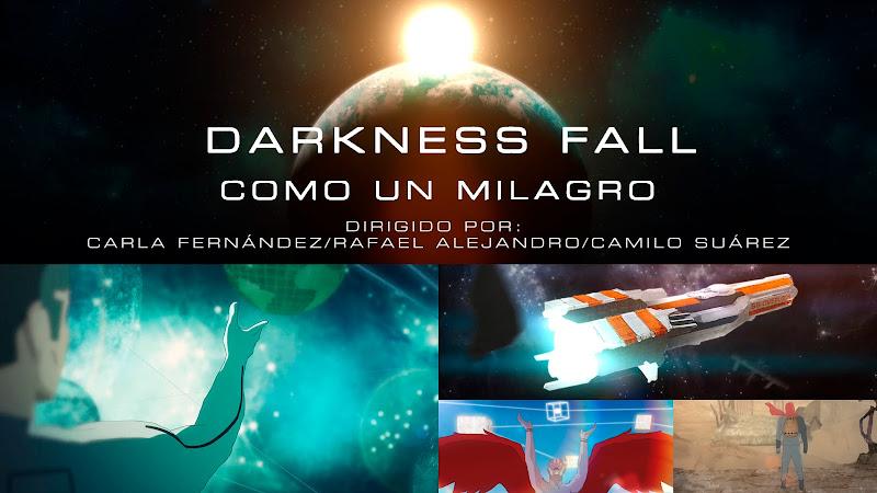 Darkness Fall - ¨Como un milagro¨ - Videoclip / Dibujo Animado - Dirección: Carla Fernández - Rafael Alejandro - Camilo Suárez. Portal del Vídeo Clip Cubano