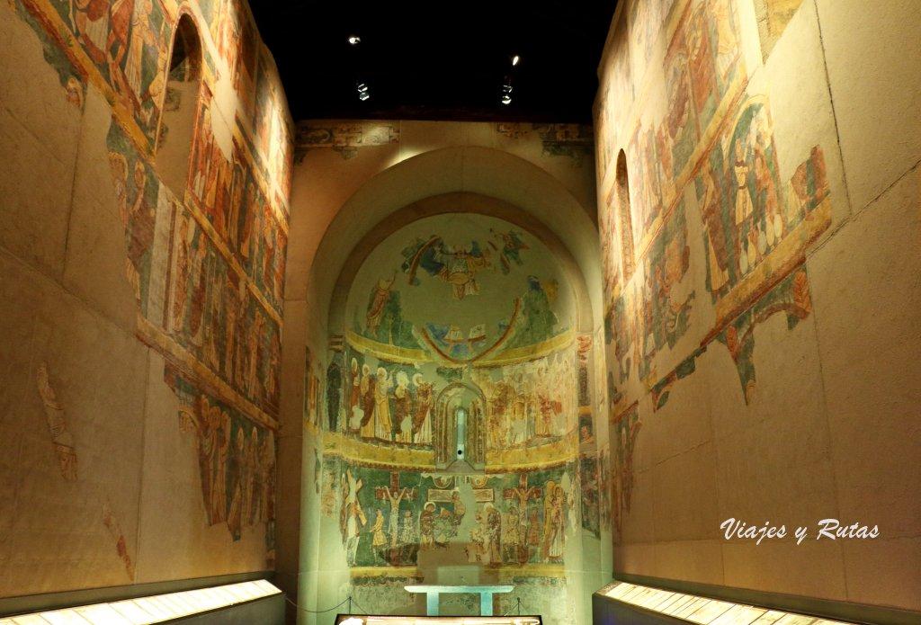 Iglesia de los santos Julián y Basilisa de Bagüés. Museo diocesano de Jaca