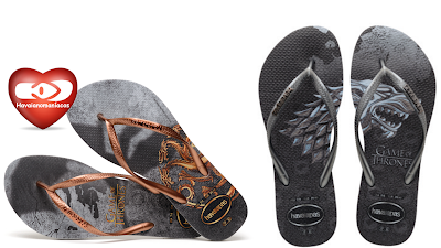 HAVAIANAS SLIM GAME OF THORNES