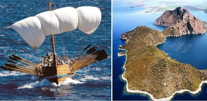 Αστερίδα, το «νησί φάντασμα» της Ομηρικής τοπογραφίας