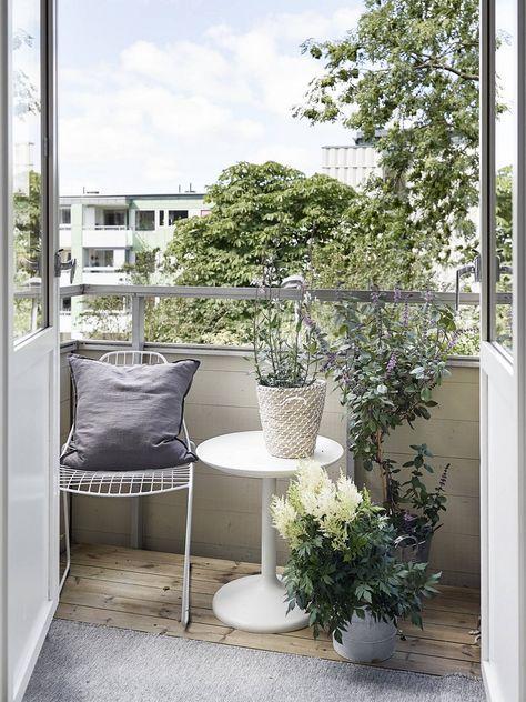 Un blog de decoraci n a mi manera balcones peque os - Balcones pequenos con encanto ...