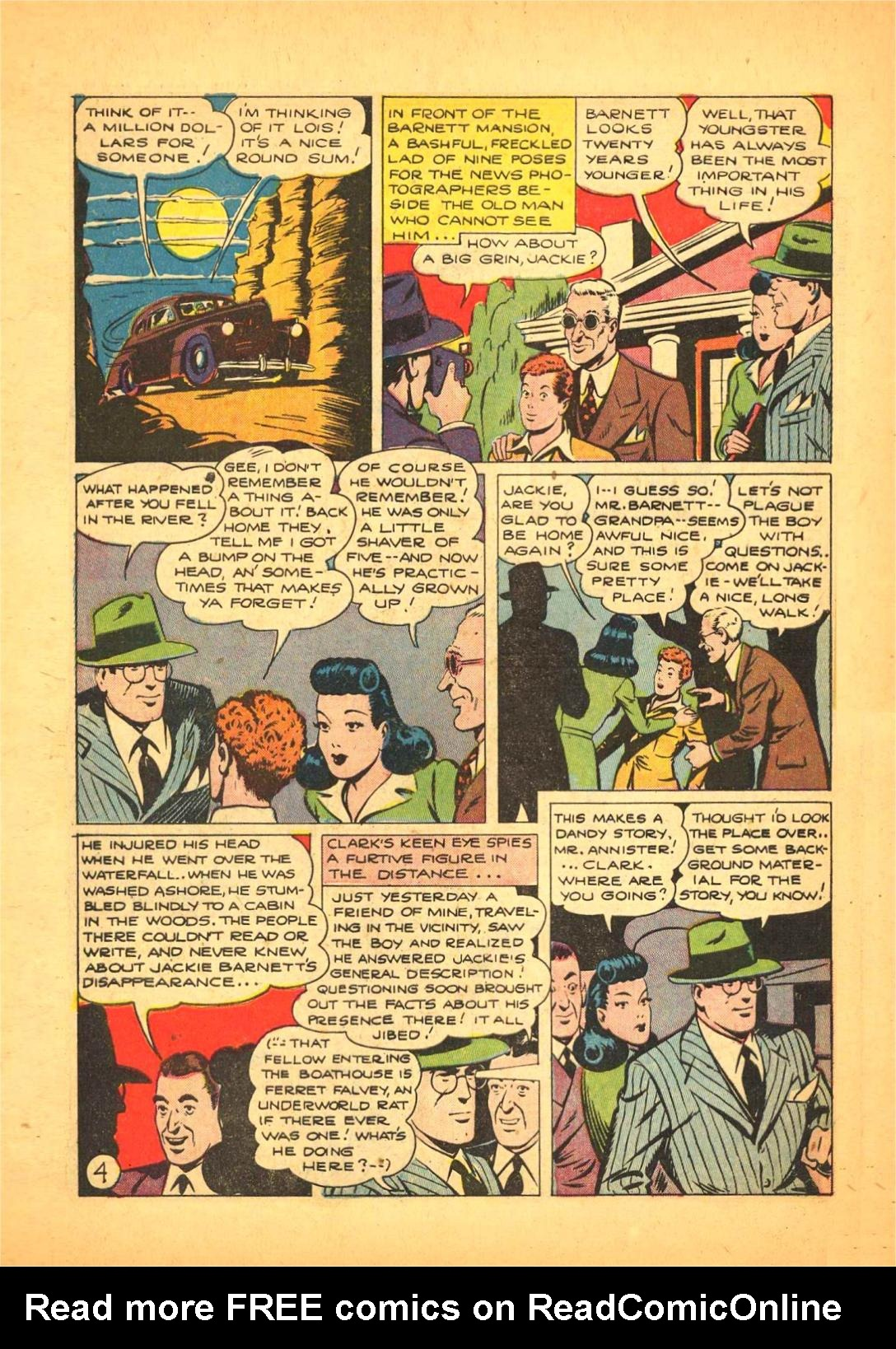 Read online Action Comics (1938) comic -  Issue #66 - 5