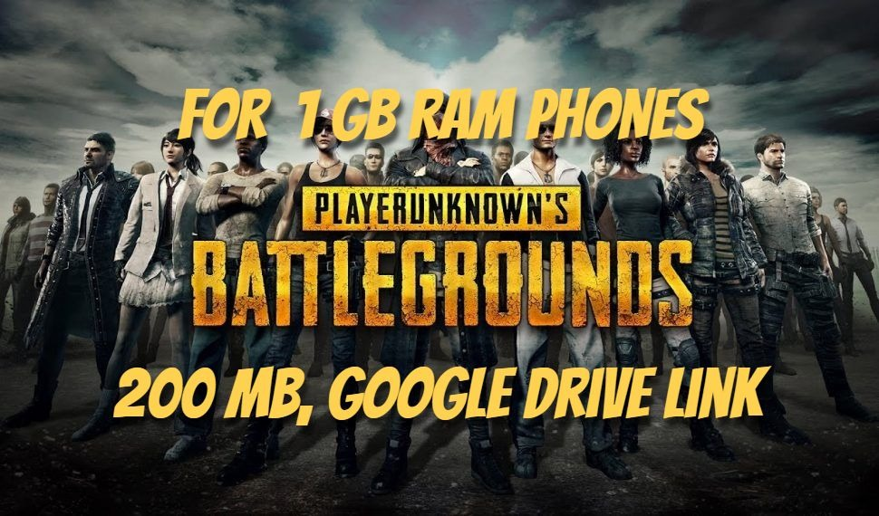 Download PUBG Mobile APK + OBB(200MB) Highly Compressed || For 1 GB