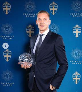 Olsen Won Best Goalkeeper Award