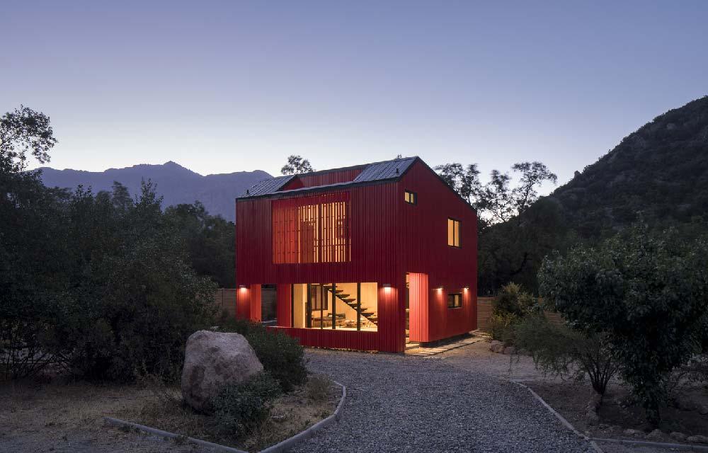 La Roja progetto Felipe Assadi Arquitectos