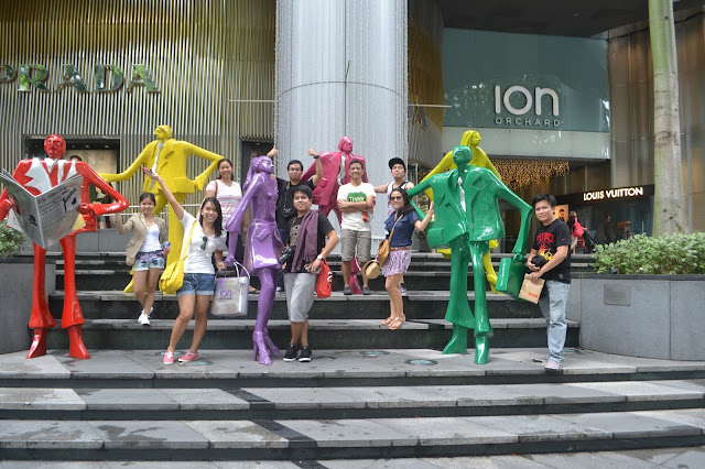 Singapore 10 Fun Activities - Ion Orchard