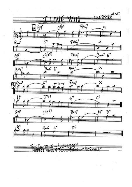 Partitura Trombón Cole Porter