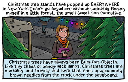 Stop Paying Attention:Tannenbaum by Lucy Knisley
