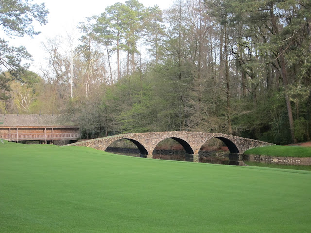 Hogan Bridge at Augusta National Golf Club