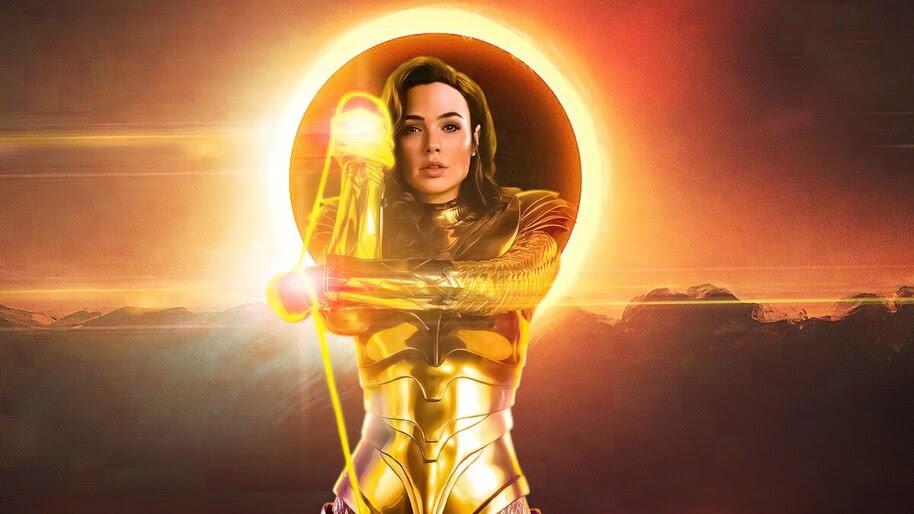 Wonder Woman 1984, Golden Armor, Gal Gadot, 4K, #3.2330