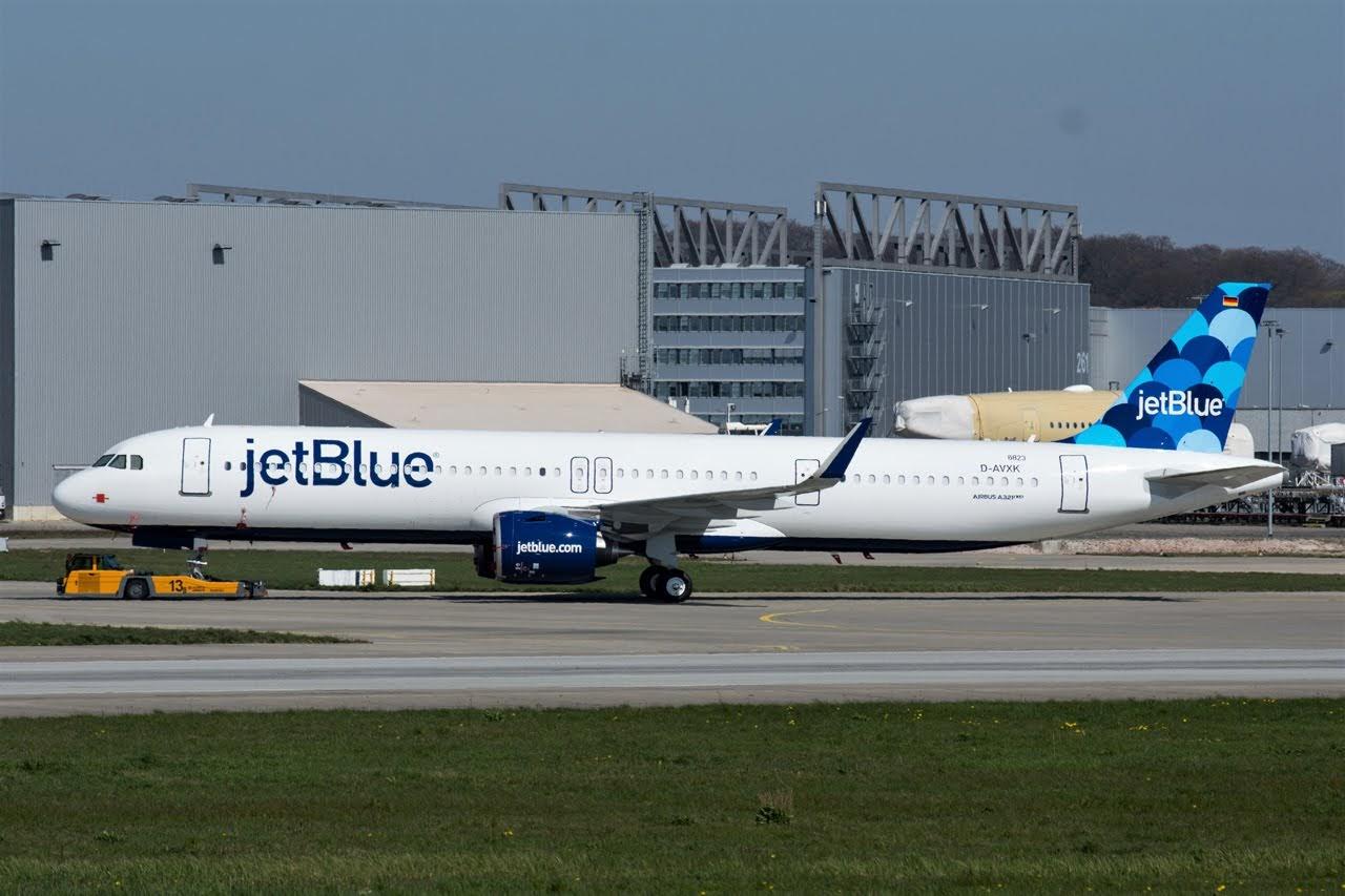 Airbus Hamburg Finkenwerder News: A321-271NX/LR, JetBlue