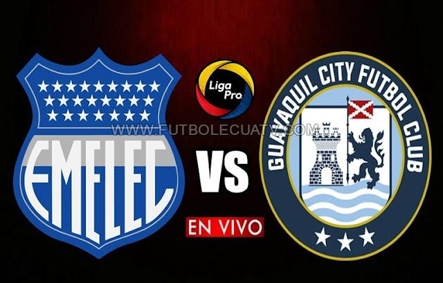 Emelec recibe a Guayaquil City en vivo a partir de las 16h15 horario de nuestro territorio por la fecha veinticuatro de la Serie A Ecuador a efectuarse en el Estadio George Capwell, teniendo como árbitro principal a Luis Quiroz con transmisión del medio autorizado GolTV.