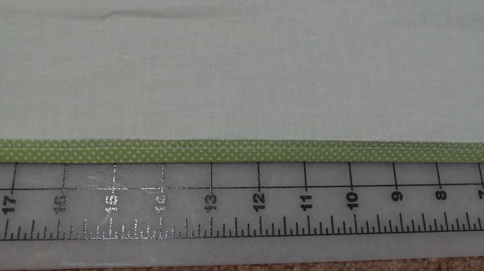 Apples To Applique Lined Valence With Rod Pocket