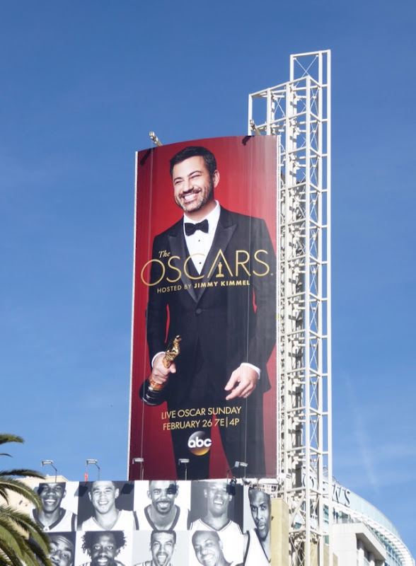 Jimmy Kimmel 89th Oscars billboard