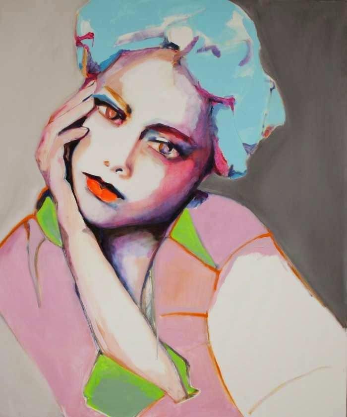 Живопись - увлекательный процесс. Patricia Derks