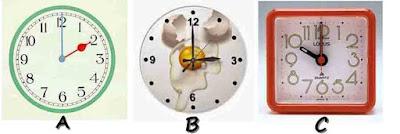 Membaca jam dalam Bahasa Inggris  O'clock