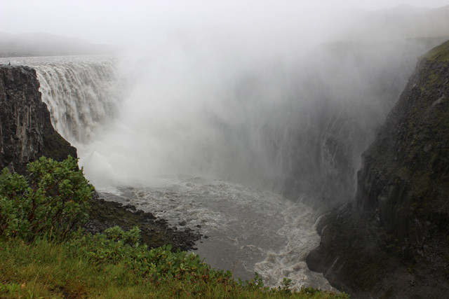 Dettifoss, una caída de 45 metros