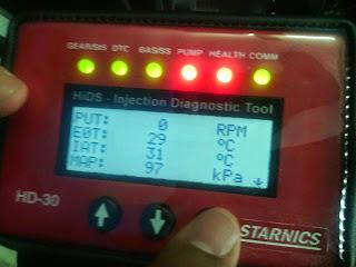 HIDS HD 30 Starnics/Scanner Honda