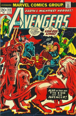 Avengers #112, the Lion-God lives