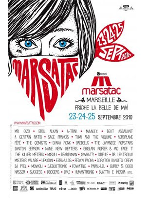 25 Sep - Festival MARSATAC, Marseille, France - ACR Gigography