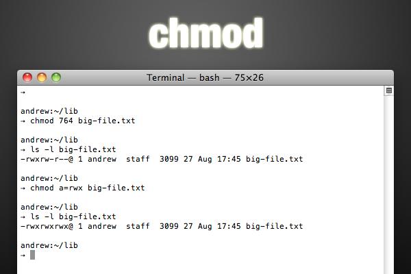 chmod-xxx-filename