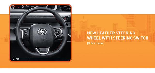 Steering Wheel Toyota Sienta