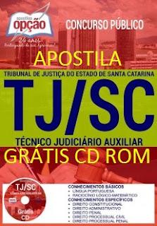 Apostila Preparatória TJ SC Técnico Judiciário Auxiliar