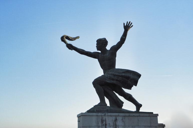 Monument de la libération à Budapest sur le Mont Gellért