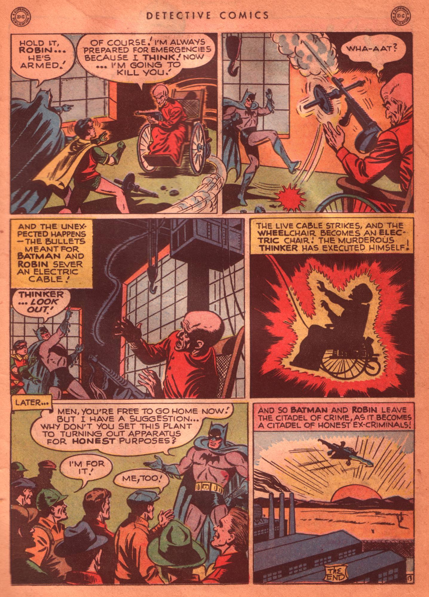 Read online Detective Comics (1937) comic -  Issue #125 - 15
