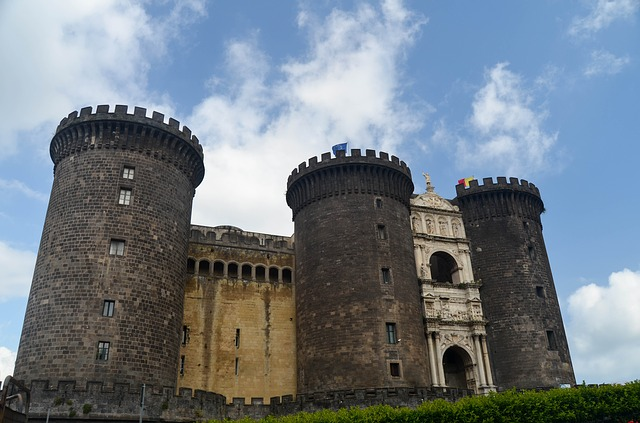 Castel Nuovo Naples, Castel Nuovo, Naples, Tourist attractions, Tourism, Italy, Sea Castle, Beaches, Castle,