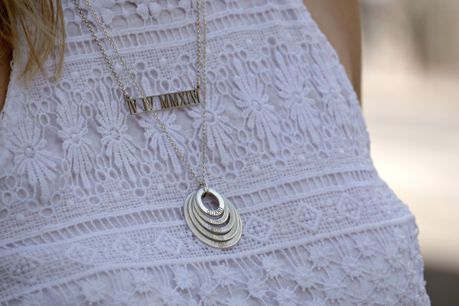 bijoux personnalisés Onecklace